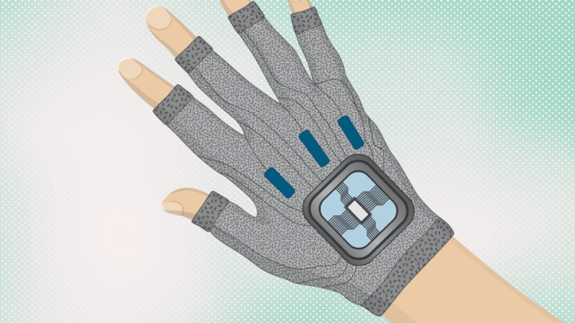 Hansker med fleksible bevegelsessensorer av silke og nanoleire, kan gjøre kirurgene mer nøyaktige.