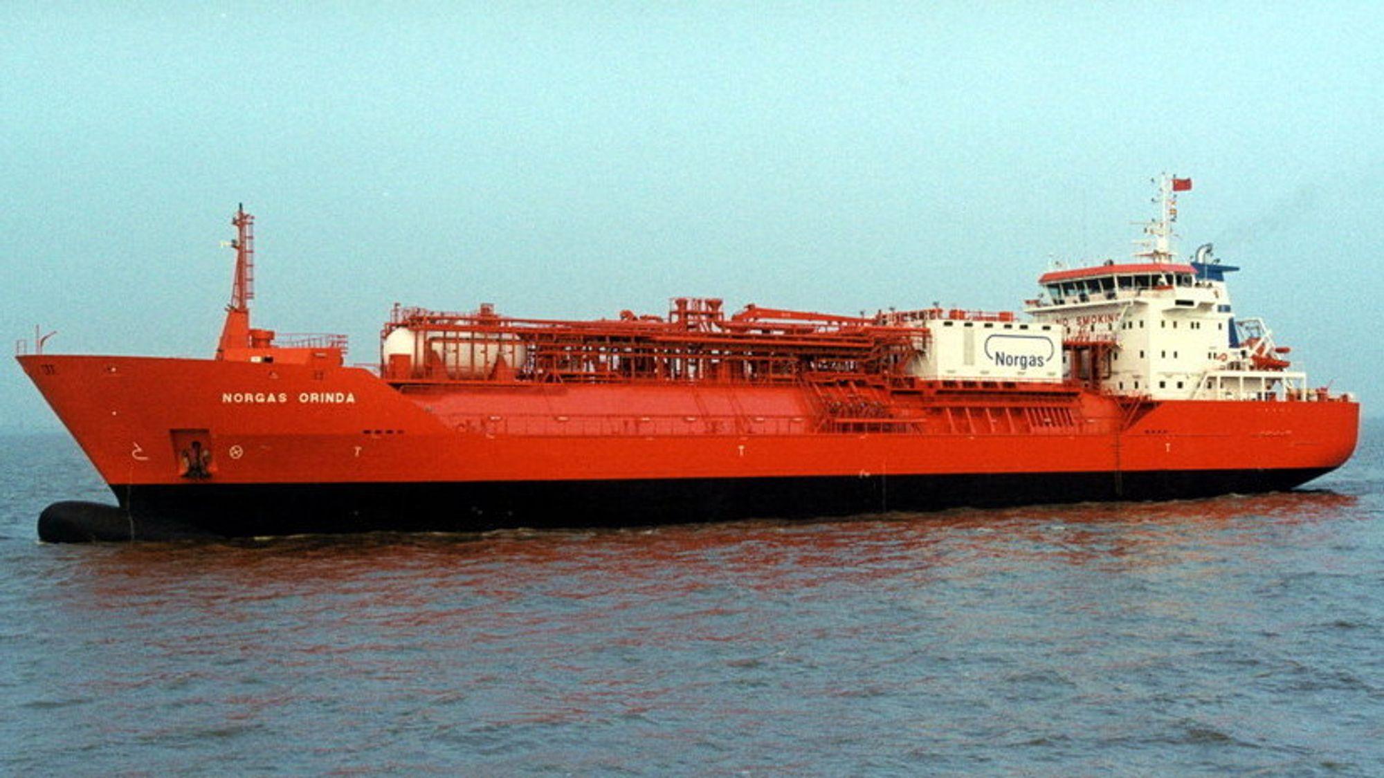 Saksøkerne hevder at industrigiganten MAN jukset med hovedmotoren til Norgas Orinda og fem andre skip.
