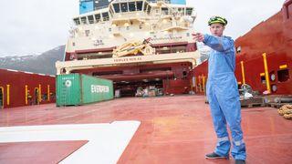 Utsettelse var med på å redde verftet: Nå er «superskipene» endelig levert