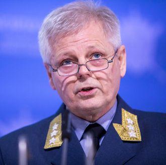 Sjef for Etterretningstjenesten, generalløytnant Morten Haga Lunde. Foto.