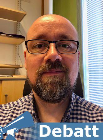 Håvard Pedersen. Portrett.