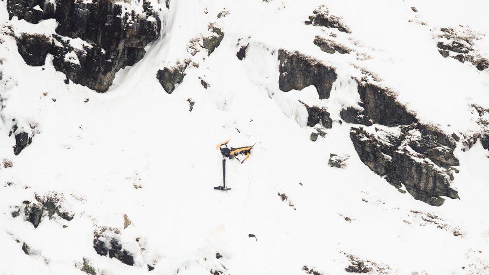 Robinson R44-helikopteret havarerte i Røldalsfjellet.