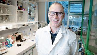 Han har funnet molekylet som kan vise seg å stoppe Alzheimers