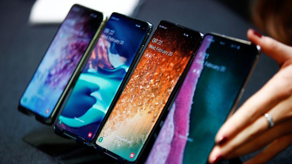 cd2e945d Samsung Galaxy S10e, S10, S10+ og Samsung Galaxy S10 5G.