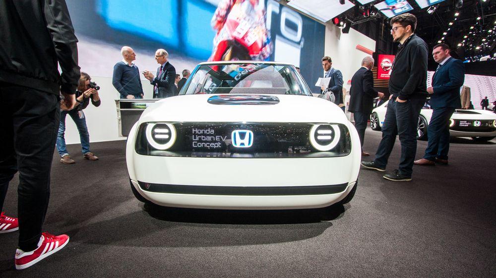 a12908f0 Honda Urban EV Concept er ventet å dukke opp igjen i Genève i år. Denne
