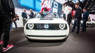 Honda Urban EV Concept er ventet å dukke opp igjen i Geneve i år. Denne gangen nærmere produksjon enn noen gang tidligere.