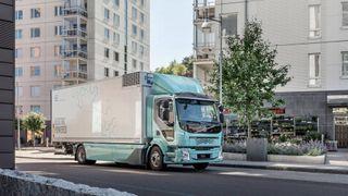 DB Schenker tar i bruk elektriske lastebiler av typen Volvo FL Electric.