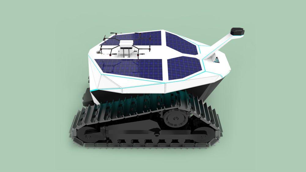 Bearcub 24 er den første selvgående eltraktoren Ztractor lanserer. Den skal testes ut på Vestre Sylling i Lier.