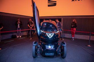 Seat Minimo minner en hel del om Renault Twizy.