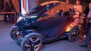 Seat Minimo utstilt i Barcelona.