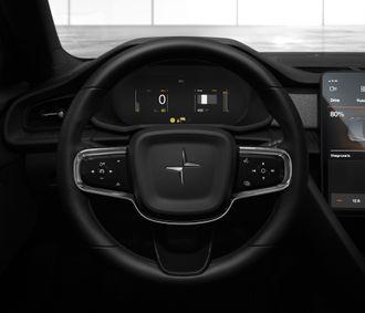 En dynamisk skjerm i stedet for et vanlig speedometer.