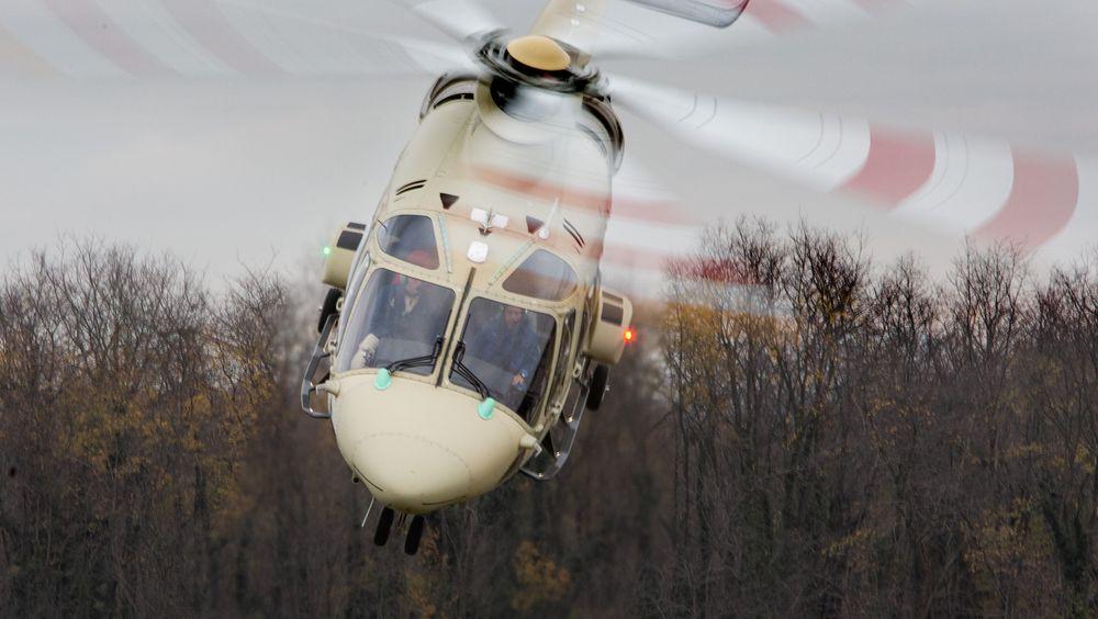 Jomfruferden med politiets første AW169 fant sted 22. november i fjor.