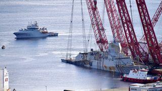 Tidsplanen er klar: Leverer fregatten ved Haakonsvern søndag