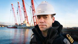 Arild Øydegard i Forsvarsmateriell er prosjektleder for berging av KNM Helge Ingstad.