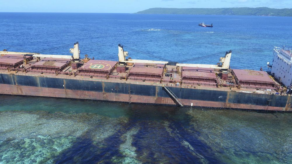 Solomon Trader har 650 tonn drivstoff om bord.