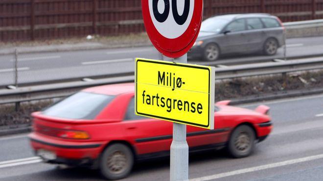 Miljøfartsgrense gjeninnføres i Oslo fra mandag