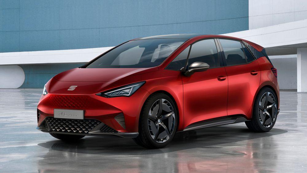 Fronten minner en del om Tesla Model 3, men det er ikke klart om Seat er enige i den vurderingen.