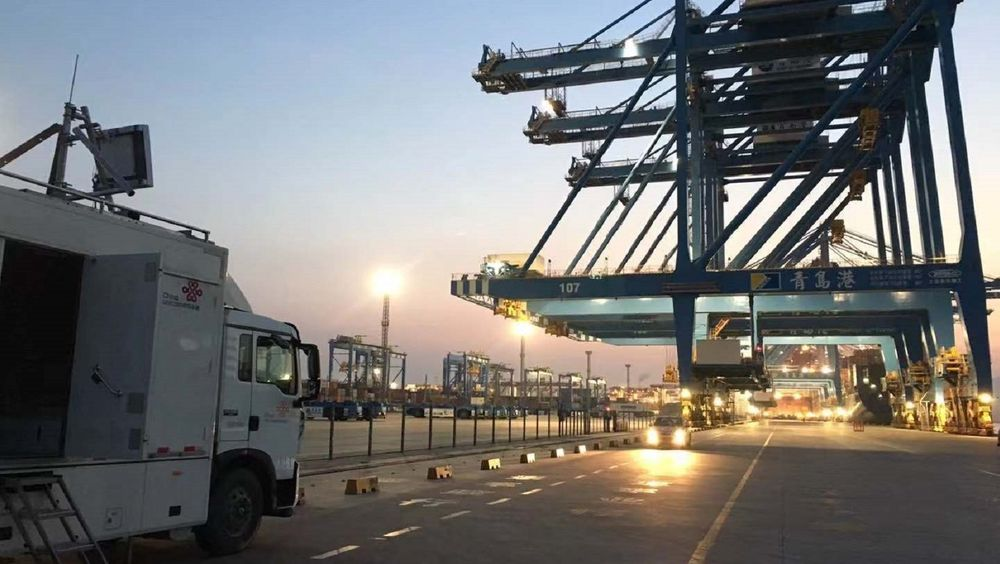 Ericsson og China Unicom har testet bruk av 5G som nettverk for å styre kraner i den automatiserte container-havna i Qingdao.