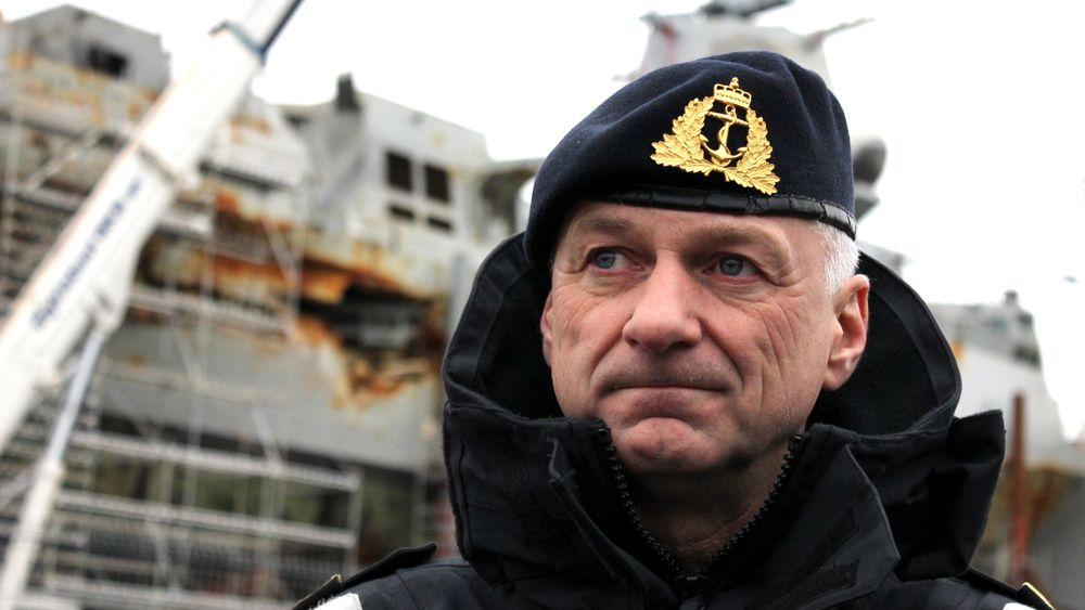 Thomas Wedervang, sjef for Forsvarsmateriells maritime kapasiteter, går i gang med en omfattende tilstandsrapport.