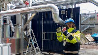 Har testet i over 5000 timer: Nå er oppskriften på CO2-fangst fra avfallsforbrenning klar