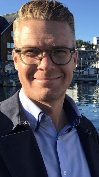 Mats Rønning, leder av presselosjen og jobber i Dagbladet.