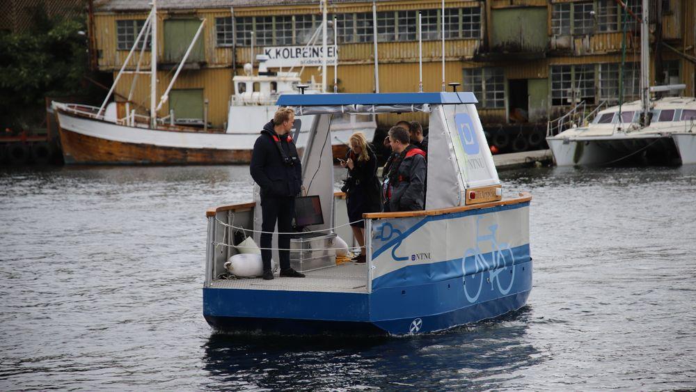 Fergen Milliampere, her i Haugesund.