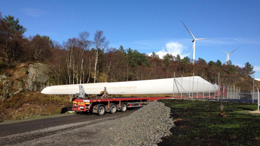 Nå starter byggingen av Måkaknuten vindpark i Bjerkreim kommune i Rogaland. 22 vindturbiner skal bygges og Norsk Vind Energi venter å være i drift fra høsten 2020.