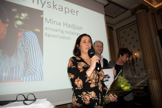 Mina Hadjian er årets nyskaper i Oslo redaktørforening