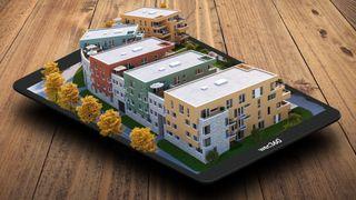 VR AR augmented reality boligvisninger Wec 360 DNB Tordenskiold