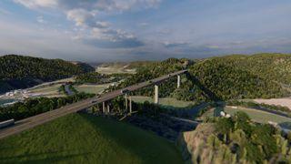 Her vil Nye Veier bygge Norges høyeste bru