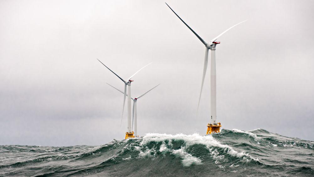 Havvind skal dekke 30 prosent av elektrisitetsforsyningen i Storbritannia innen 2030.  (Photo by Dennis Schroeder / NREL)