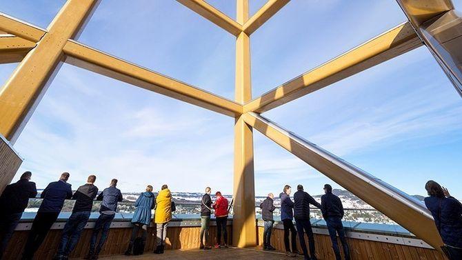 Mjøstårnet verdens høyeste trehus Moelven