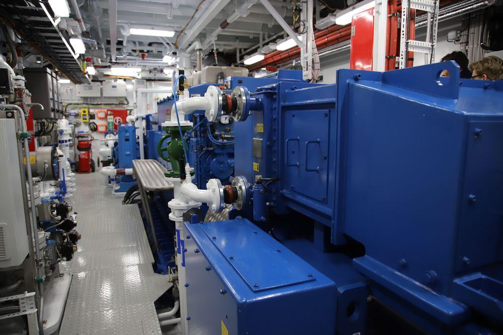 Kystverkets nyeste oljevernfartøy OV Ryvingen har batterihybrid drift. Det er teknologi som kan bli tilgjengelig via IMO-prosjektet Green Voyage-2050.