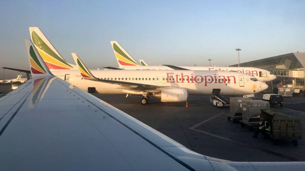 Ethiopian Airlines har parkert alle fly av typen MAX 8 etter flystyrten søndag.