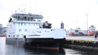 Kystverket fikk batteridrevet oljevernfartøy: – Et fantastisk skip og et helt genialt energisystem