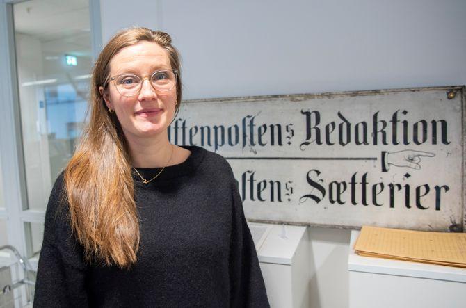 Podkastansvarlig og produsent Karoline Fossland (31) i Aftenposten.