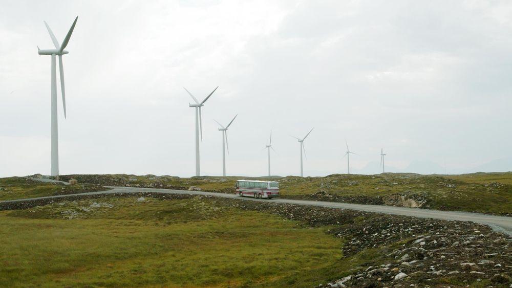 Vindmølleparken på Smøla i Møre og Romsdal