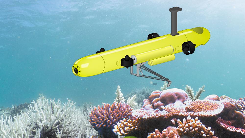 Undervannsroboten COTSbot er satt i tjeneste på Great Barrier Reef. Den bruker nåler og salter for å drepe overpopulasjonen av sjøstjerner som spiser korallene. Disse robotene vil kanskje kunne levere probiotika til korallene med den samme metoden.