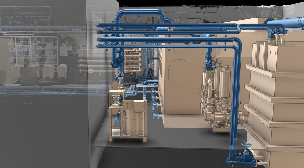 Blom Maritime lager 3d-modeller av innsiden på skip.