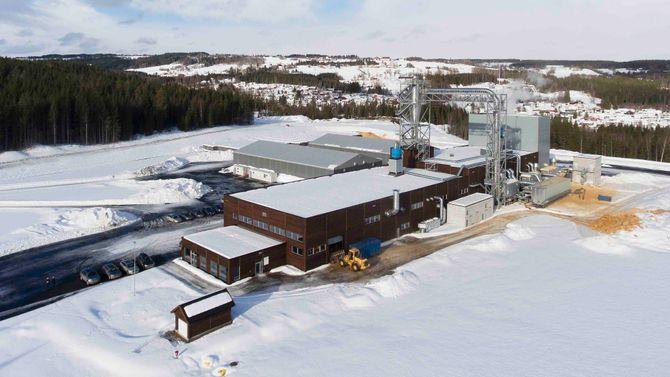 Hunton trefiberisolasjon ny fabrikk Gjøvik