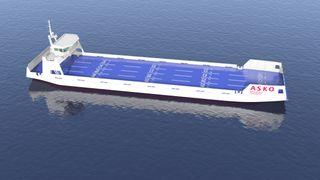 Asko får støtte til å krysse Oslofjorden med selvgående trailerferger