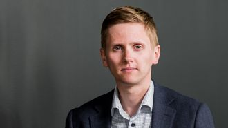 Kommunikasjonsdirektør Reynir Jóhannesson i Ice