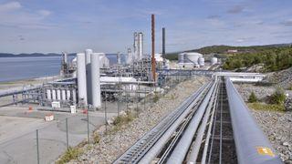 Dropper hydrogen-prosjekt uten CO₂-lagring på Tjeldbergodden