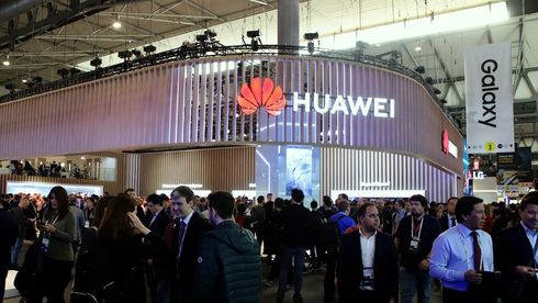 Illustrasjonsfoto. Fra Huaweis stand på Mobile World Congress 2019.