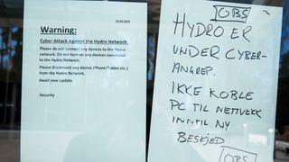 Norsk Hydro varsler alle sine ansatte om ikke å slå på pc da de er under et dataangrep.