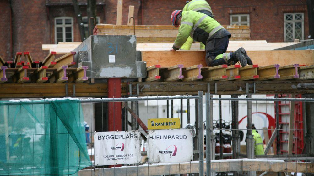 Fellesforbundets regionale verneombud stanset farlig arbeid på byggeplasser 1.812 ganger i 2018.