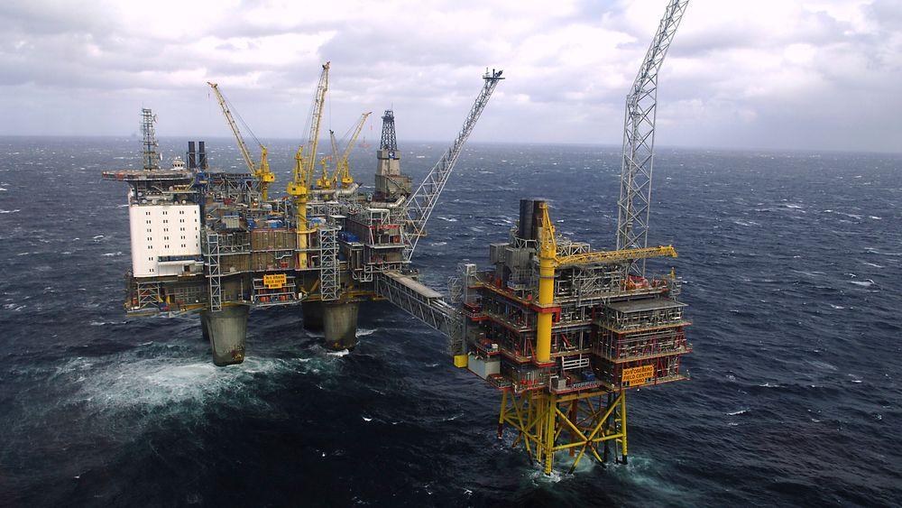Den norske leterefusjonsordningen for oljeindustrien utgjør ikke statsstøtte, har EØS-tilsynet ESA avgjort. På bildet ser vi Oseberg-plattformen i Nordsjøen.