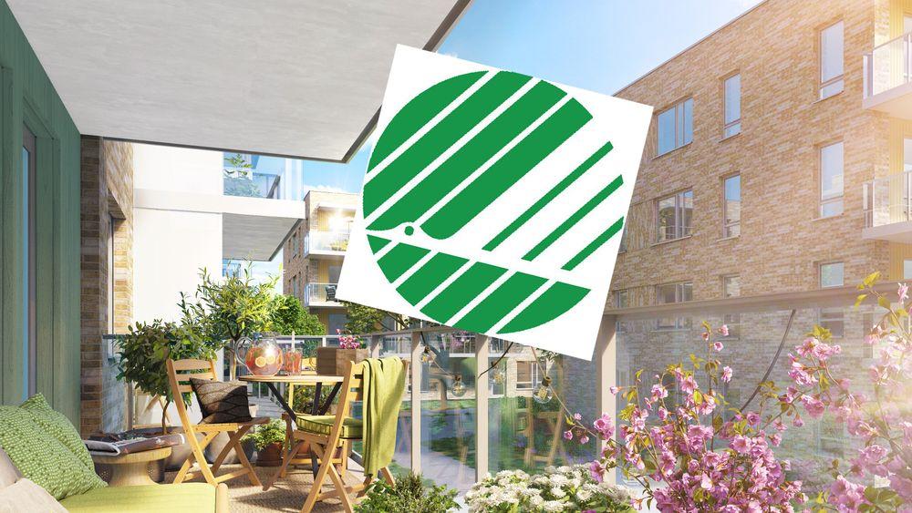 Boligprosjektet Bergerløkka på Vestre Billingstad i Asker er et av de første stedene i Norge du kan kjøpe en svanemerket bolig.