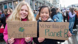 Det er bare å venne seg til trøkket fra barn og unge i klimasaken: Ja til klimaskulk!