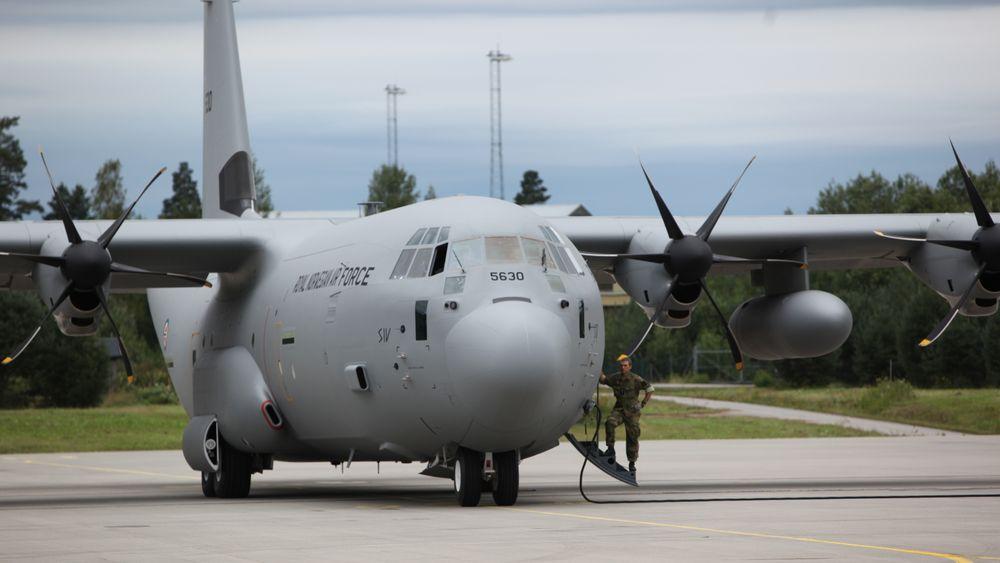 Det var dette C-130J-flyet, «Siv», som havarerte for litt over sju år siden.
